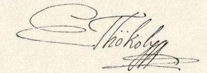 La firma autografa di Emmerich