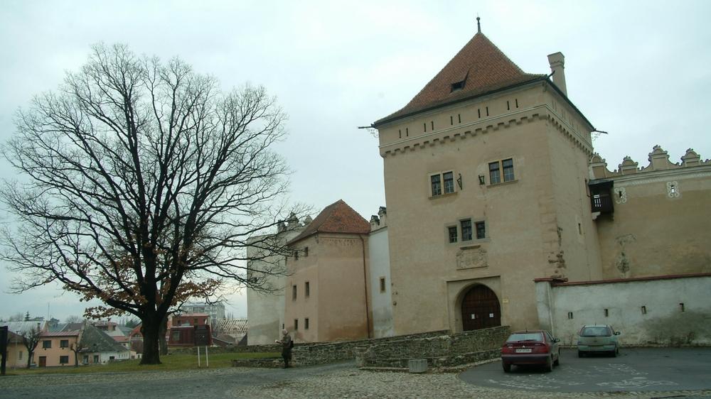 Il castello di Emmerich Thököly a Kezmarok in Slovacchia